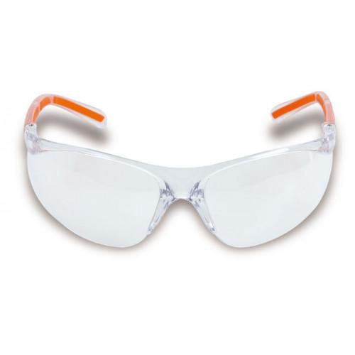Okulary ochronne z bezbarwnymi soczewkami z poliwęglanu Beta 7061TC