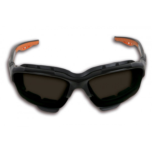 Okulary ochronne z przyciemnianymi soczewkami z poliwęglanu Beta 7093BD