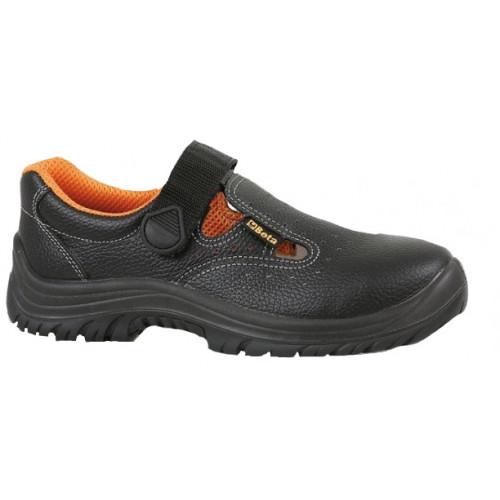 Sandały bezpieczne skórzane perforowane Beta 7247B/47