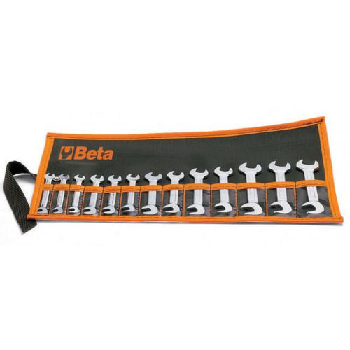 Komplet 13 kluczy płaskich ''mini'' Beta 73/B13 - rozmiar: 4-14mm