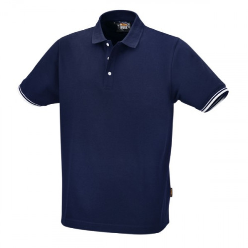 Koszulka polo z trzema guzikami Beta 7547BL