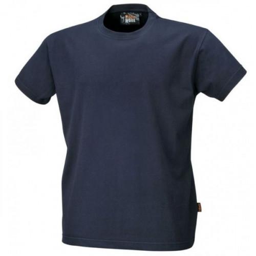 T-shirt bawełniany granatowy Beta 7548BL