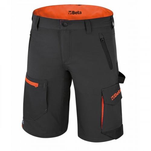 Spodnie robocze krótkie szare z wieloma kieszeniami Beta 7661G