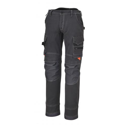 Spodnie robocze z wieloma kieszeniami z płótna Beta 7816G/L