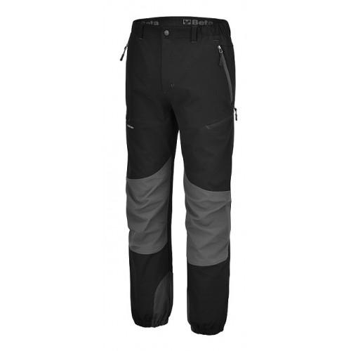 Spodnie robocze czarne z wieloma kieszeniami Beta 7817N
