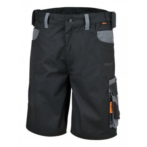 Spodnie robocze krótkie płótno czarno-szare Beta 7821