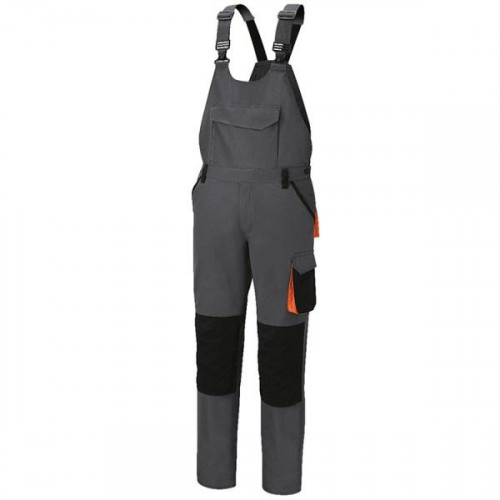 Spodnie robocze na szelkach z bawełny z domieszką streczu Beta 7933G