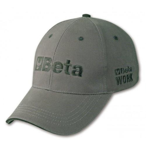 Czapka z daszkiem szara Beta 7982G