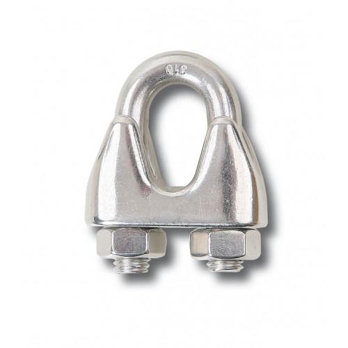 Zaciski linowe kabłąkowe ze stali nierdzewnej AISI 316 Beta 8216