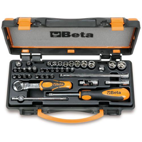 Zestaw nasadek sześciokątnych i końcówek wkrętakowych z akcesoriami Beta 900/C11