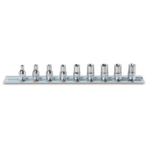 Komplet 9 nasadek 1/4'' Torx Beta 900FTX/SB9 - rozmiary: 4-14mm