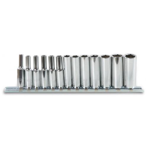 Komplet 13 nasadek długich sześciokątnych 1/4'' Beta 900L/SB13 - rozmiary: 4-14mm