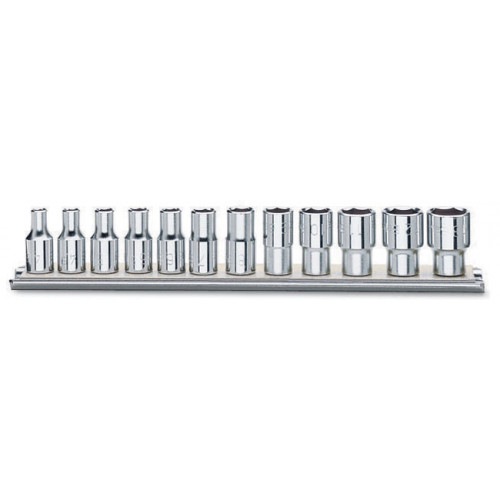 Komplet 12 nasadek dwunastokątnych 1/4'' Beta 900MB/SB12 - rozmiary: 4-14mm