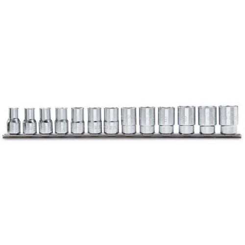 "Komplet 13 nasadek 3/8'' sześciokątnych calowych Beta 910A/AS/SB13 - rozmiary: 1/4""-7/8"""