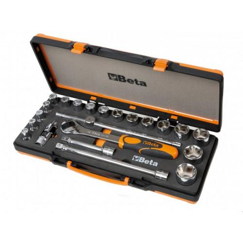 Zestaw 17 nasadek sześciokątnych z akcesoriami Beta 920A/C17M