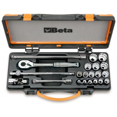 Zestaw 21 nasadek 1/2'' z wyposażeniem Beta 920AS/MBM-C21