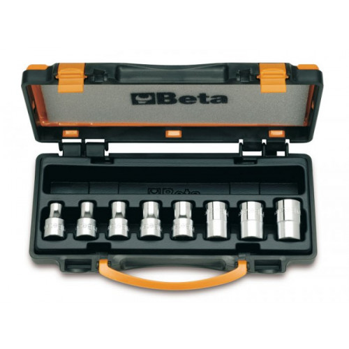 Komplet 8 nasadek profil Torx wewnętrzny Beta 920FTX - rozmiar: E10-E24