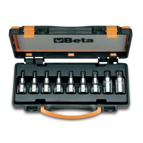 Komplet 9 nasadek trzpieniowych Torx Beta 920TX - rozmiary: T20-T60