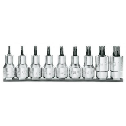 Komplet 9 nasadek trzpieniowych Torx Beta 920TX - rozmiar: T20-T60