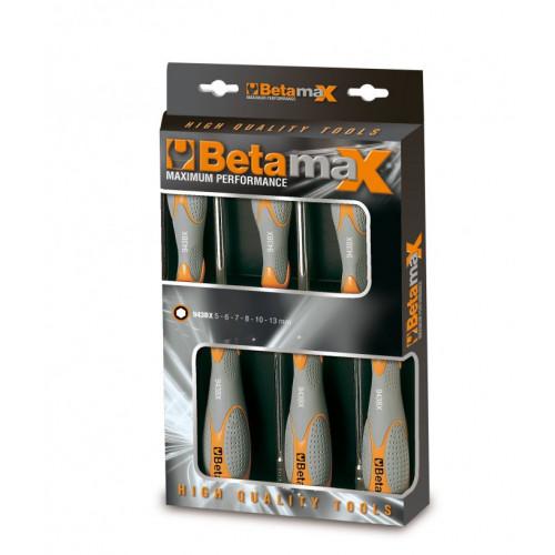 Komplet 6 kluczy nasadowych Beta 943BX/D6 - rozmiary: 5-13 mm
