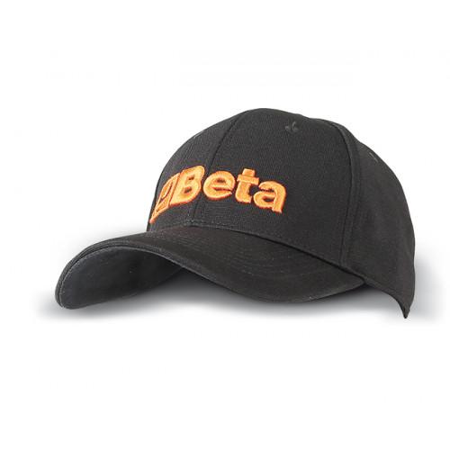 Czapka z daszkiem czarna Beta 9525C