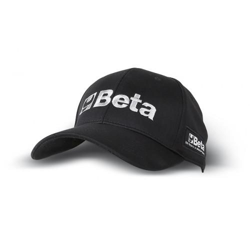 Czapka z daszkiem czarna Beta 9525R