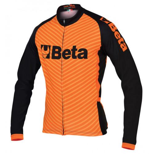 Bluza kolarska zapinana na zamek z długim rękawem Beta 9542G