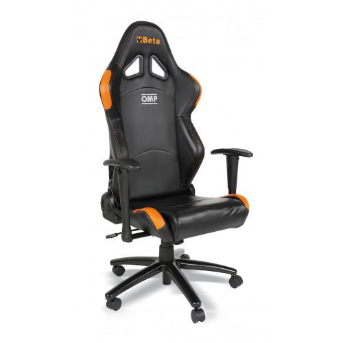Fotel biurowy czarny Beta 9563P