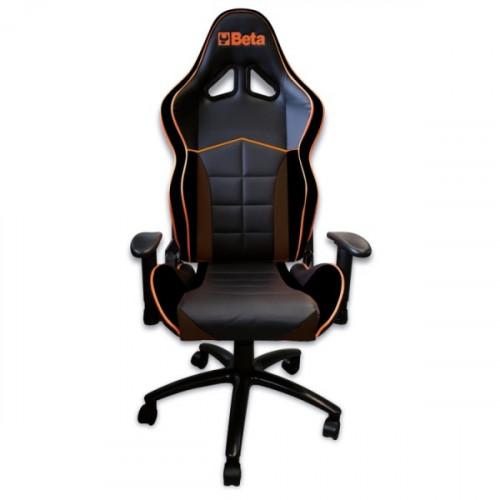 Fotel biurowy czarny ergonomiczny Beta 9563U