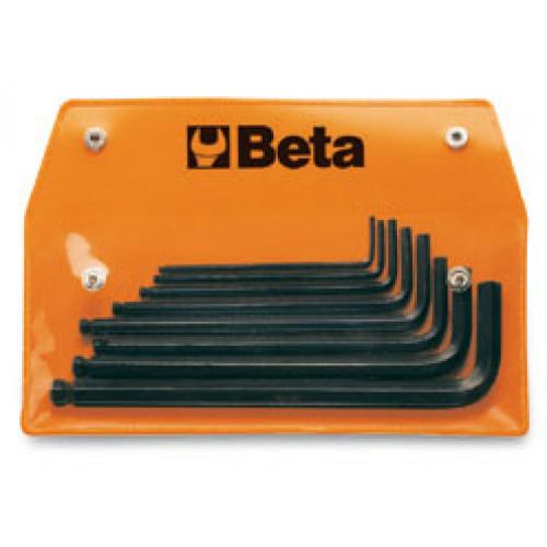 Komplet 8 kluczy trzpieniowych Beta 96BP/AS8 - rozmiary: 3/32-3/8''