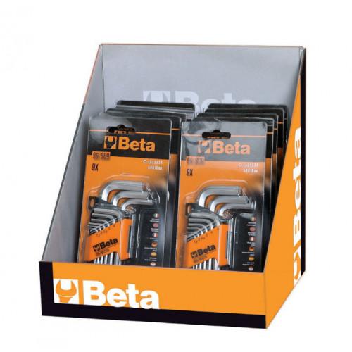 Pakiet 10 zestawów kluczy kątowych trzpieniowych Beta 96/SC9