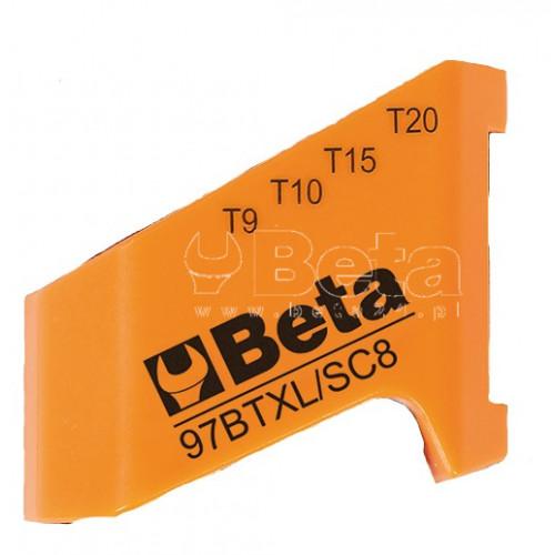 Uchwyt pusty do kompletu kluczy Beta 97BTXL/SC8