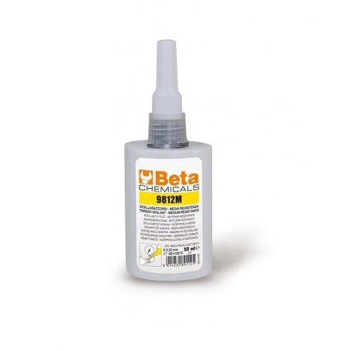 Uszczelniacz do gwintów metalowych - średnia siła łączenia 50ml Beta 9812M/50DM