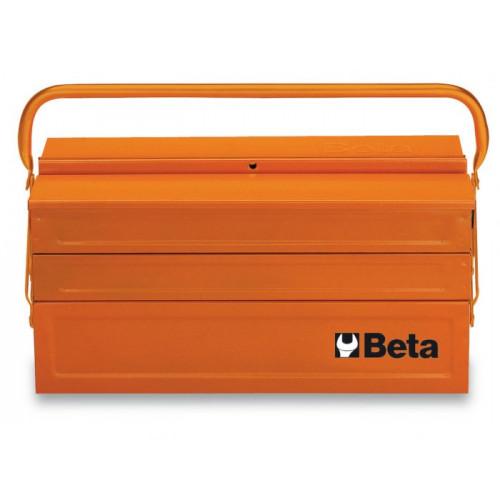 Metalowa skrzynka narzędziowa pięcioczęściowa Beta 2120/C20