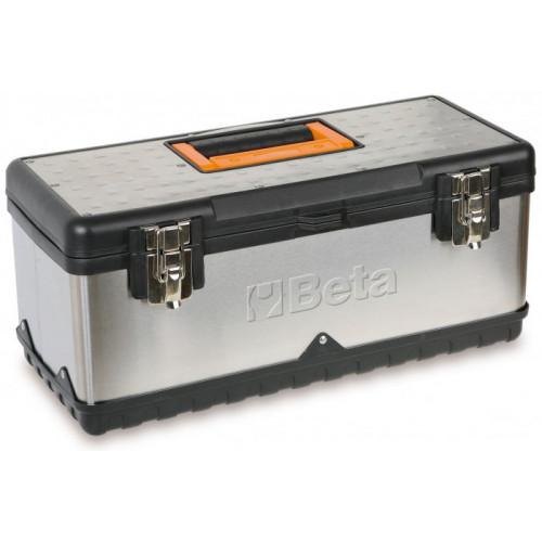 Skrzynka narzędziowa ze stali nierdzewnej i tworzywa sztucznego z wyjmowaną tacą Beta 2117/CP17