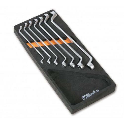 Komplet 7 kluczy Beta 90 w miękkim wkładzie profilowanym Beta 2450/M40