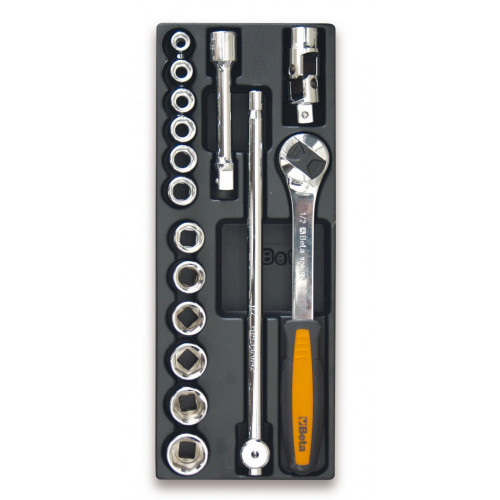 Zestaw 16 narzędzi we wkładce z tworzywa Beta T102