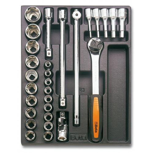 Zestaw 29 narzędzi we wkładce z tworzywa Beta T80