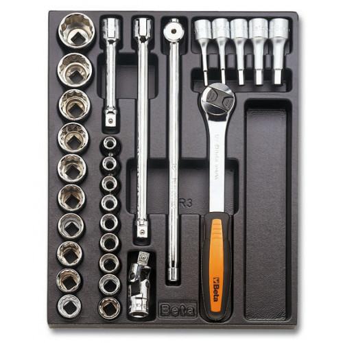 Zestaw 29 narzędzi we wkładce z tworzywa Beta T81