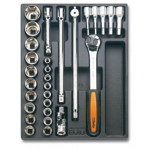 Zestaw 29 narzędzi we wkładce z tworzywa Beta T82
