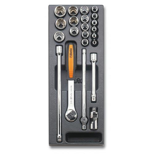 Zestaw 22 narzędzi we wkładce z tworzywa Beta T92