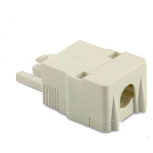 Wtyk szybkozłączy 3P biały 2.5mm2 z obudową (50szt.) BM Group BMB9033