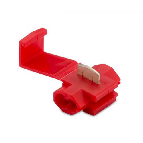 Szybkozłączka przebijająca izolację czerwona do przebijania przewodów (25 szt.) 0.25-1mm2 BM00110S1
