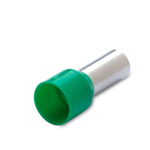 Końcówka tulejkowa izolowana zielona 16mm2 50szt. BM Group 00514