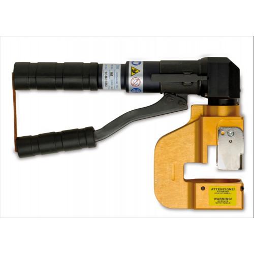 Ręczna prasa hydrauliczna do przebijania kanałów wraz z przebijakami BM Group 168