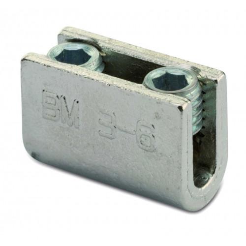 """Zaciski śrubowe typu """"U"""" 50szt. BM Group 2302 - przekrój: 25-35mm2"""