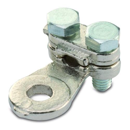 Końcówki oczkowe proste na 2 śruby 100szt. BM Group 5140 – przekrój: 10mm2