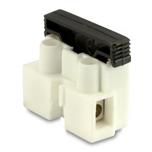 Złączki elektryczne z bezpiecznikiem 1P z blaszką ochronną (100szt.) BM Group 971CS