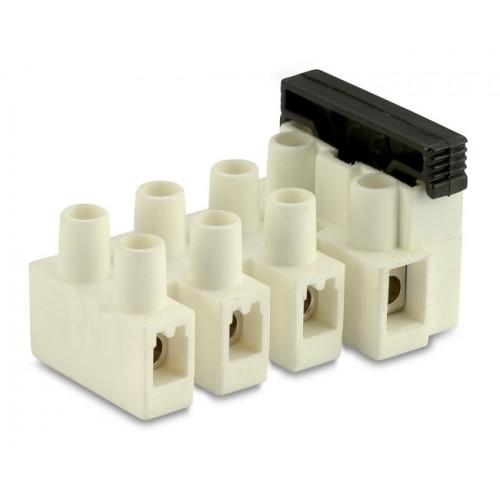 Złączki elektryczne z bezpiecznikiem 4P (100szt.) BM Group 974