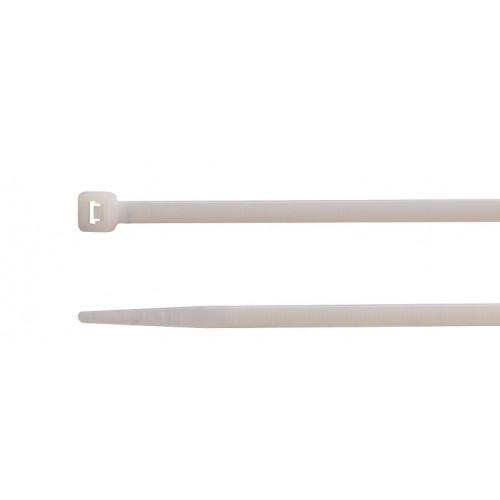 Opaski kablowe zaciskowe białe 100szt. seria B